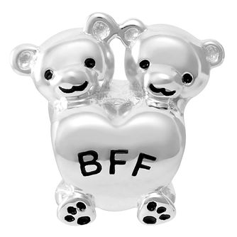 Chamilia Sterling Silver Bff Bears Charm - Product number 4047788