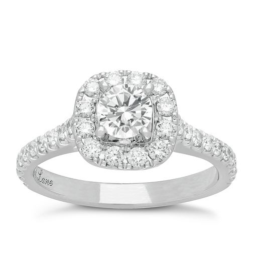 Neil Lane Platinum 1.16ct Diamond Cluster Ring - Product number 4051459