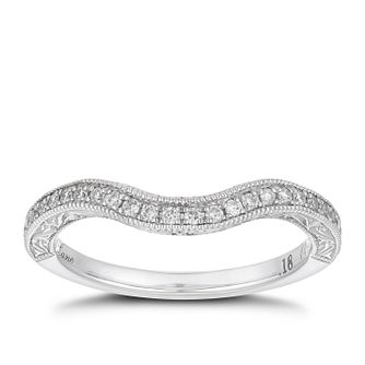 Neil Lane Platinum 0.56ct Diamond Halo Ring - Product number 4052390