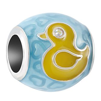 Chamilia Sterling Silver Blue Rubber Ducky Charm - Product number 4053575