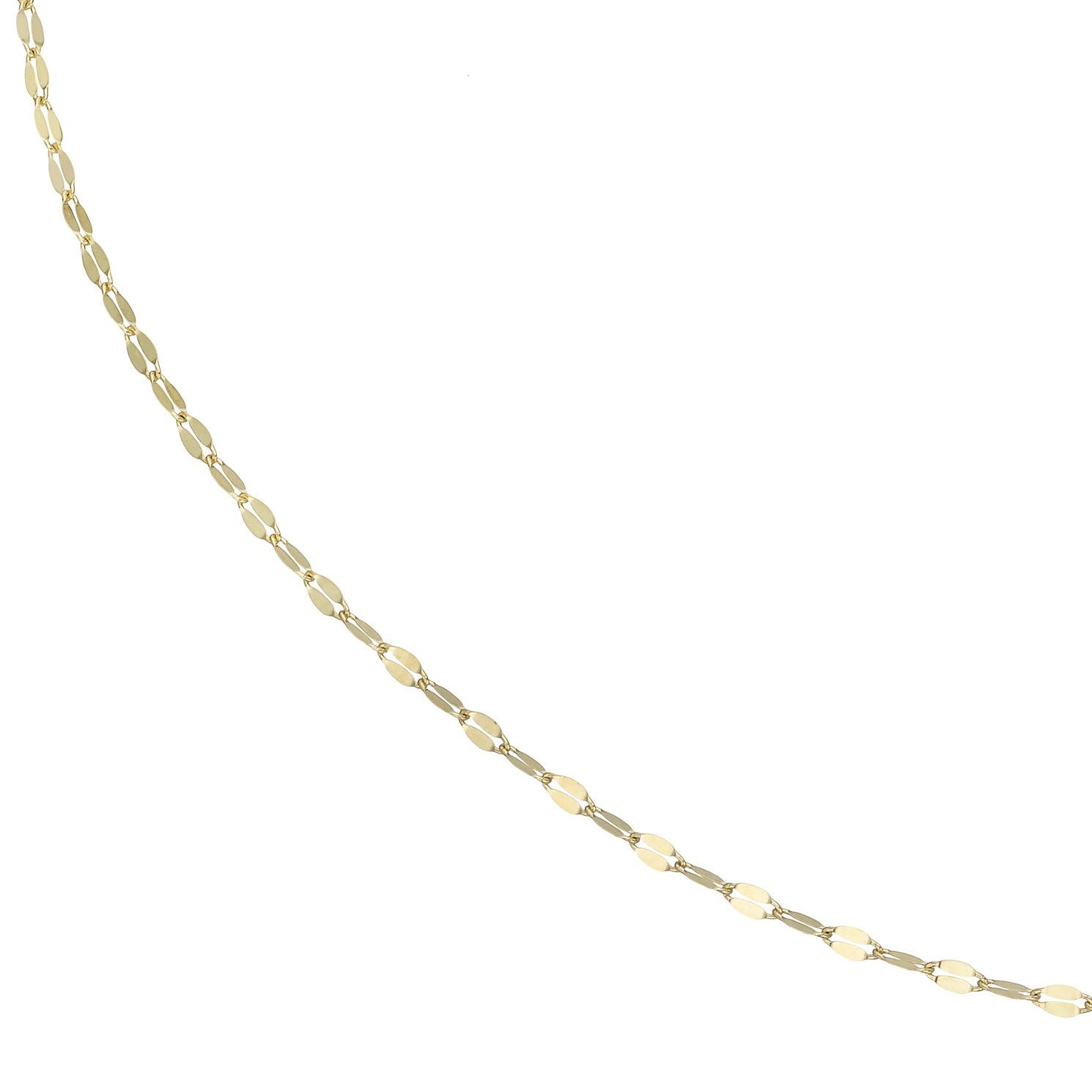 9ct Yellow Gold Disc Chain Adjustable Choker - Product number 4057406