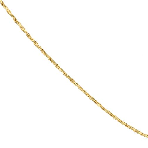 "9ct Yellow Gold 7.25"" Sparkle Chain Bracelet - Product number 4058410"