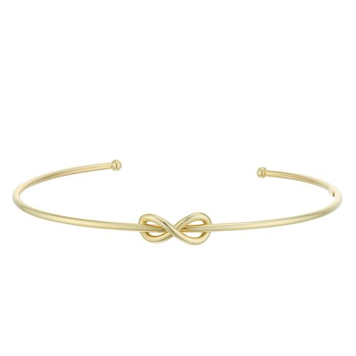 9ct Yellow Gold Figure of 8 Torque Bangle - Product number 4059301