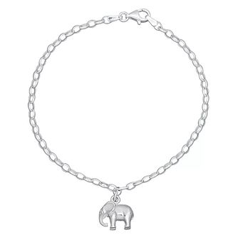 Lily Charmed Sterling Silver Elephant Bracelet - Product number 4059883
