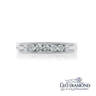 Leo Diamond 18ct White Gold 1/2ct I-Si2 Diamond Ring - Product number 4072251