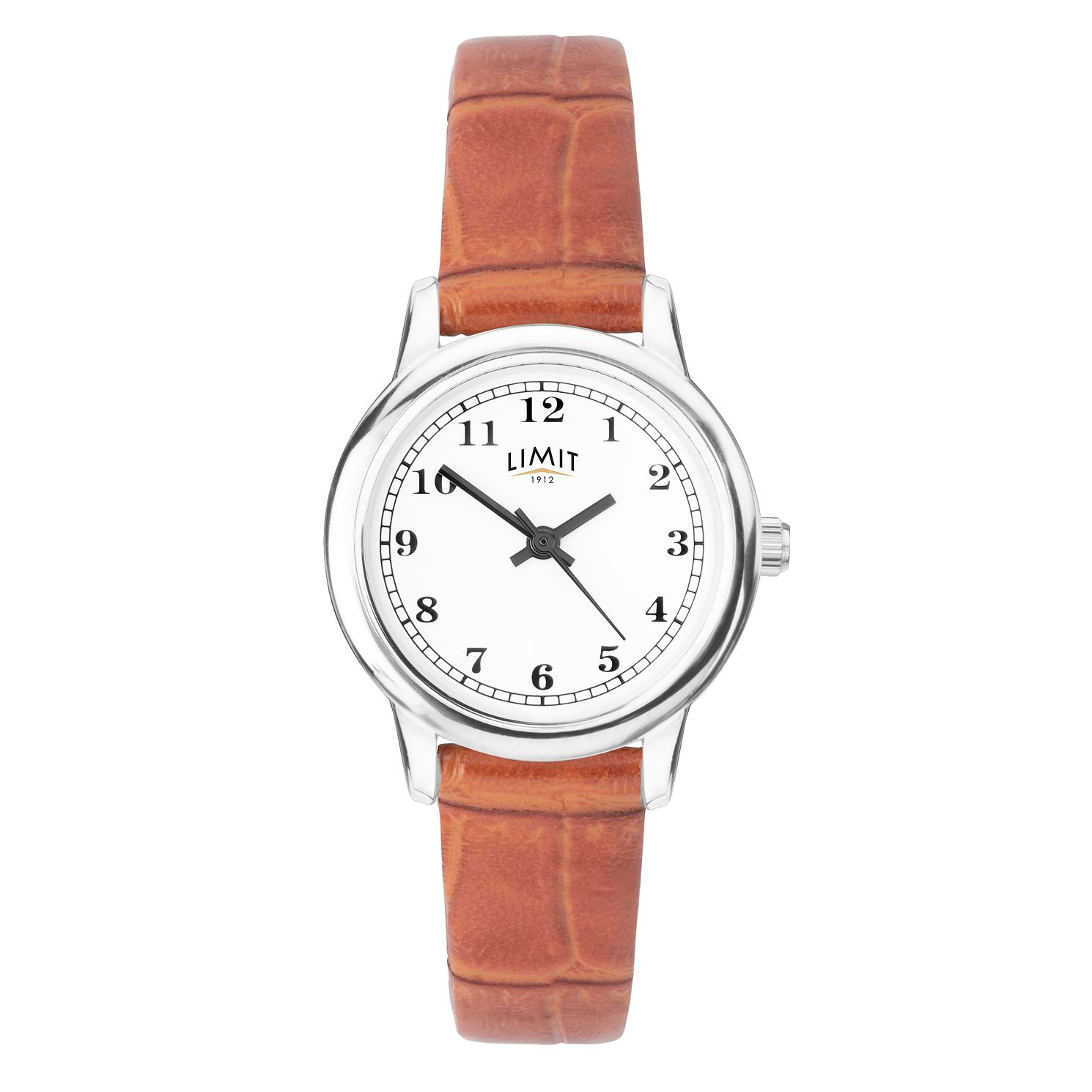 Limit Ladies' Tan Leather Strap Watch - Product number 4086554