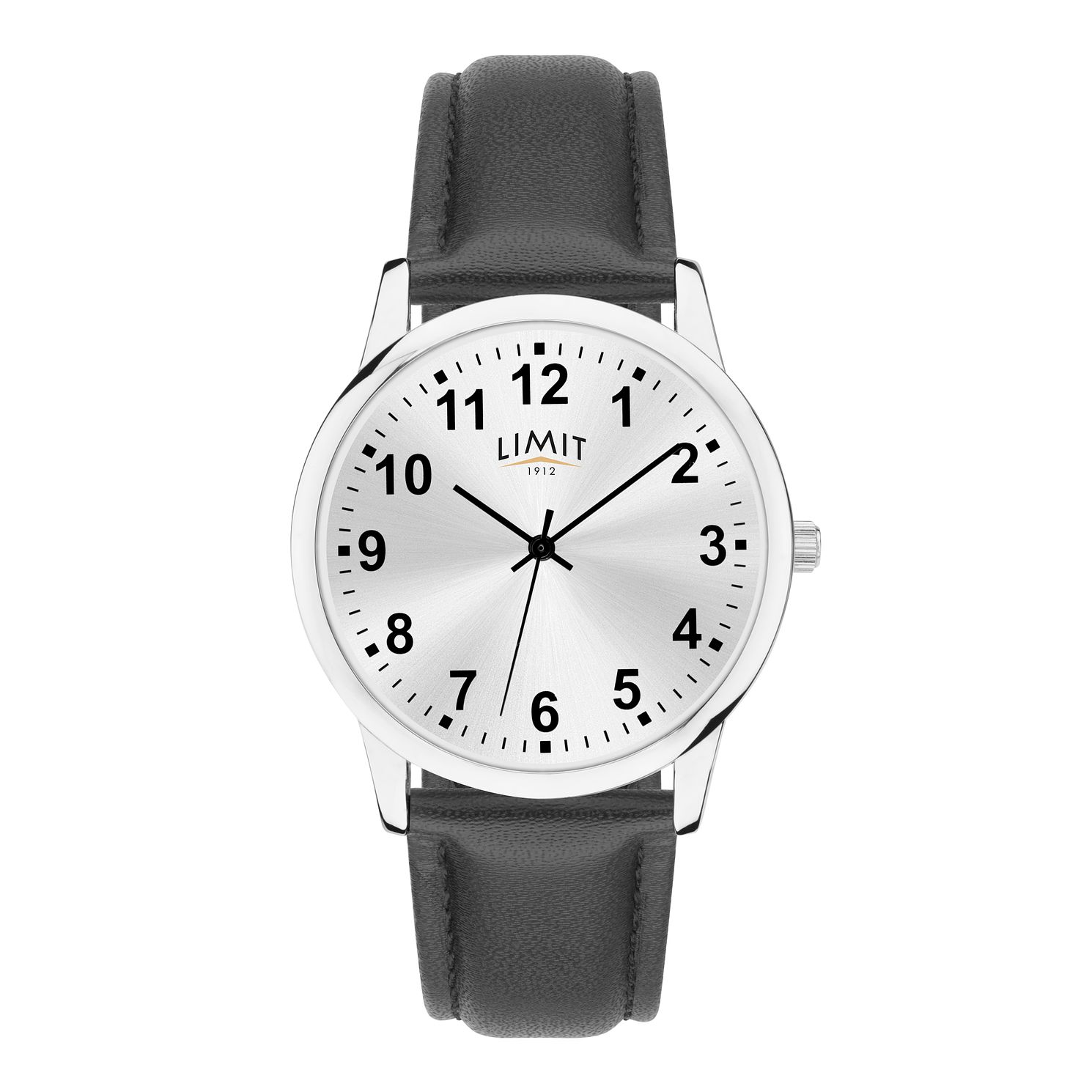 Limit Men's Black Leather Strap Watch - Product number 4086589