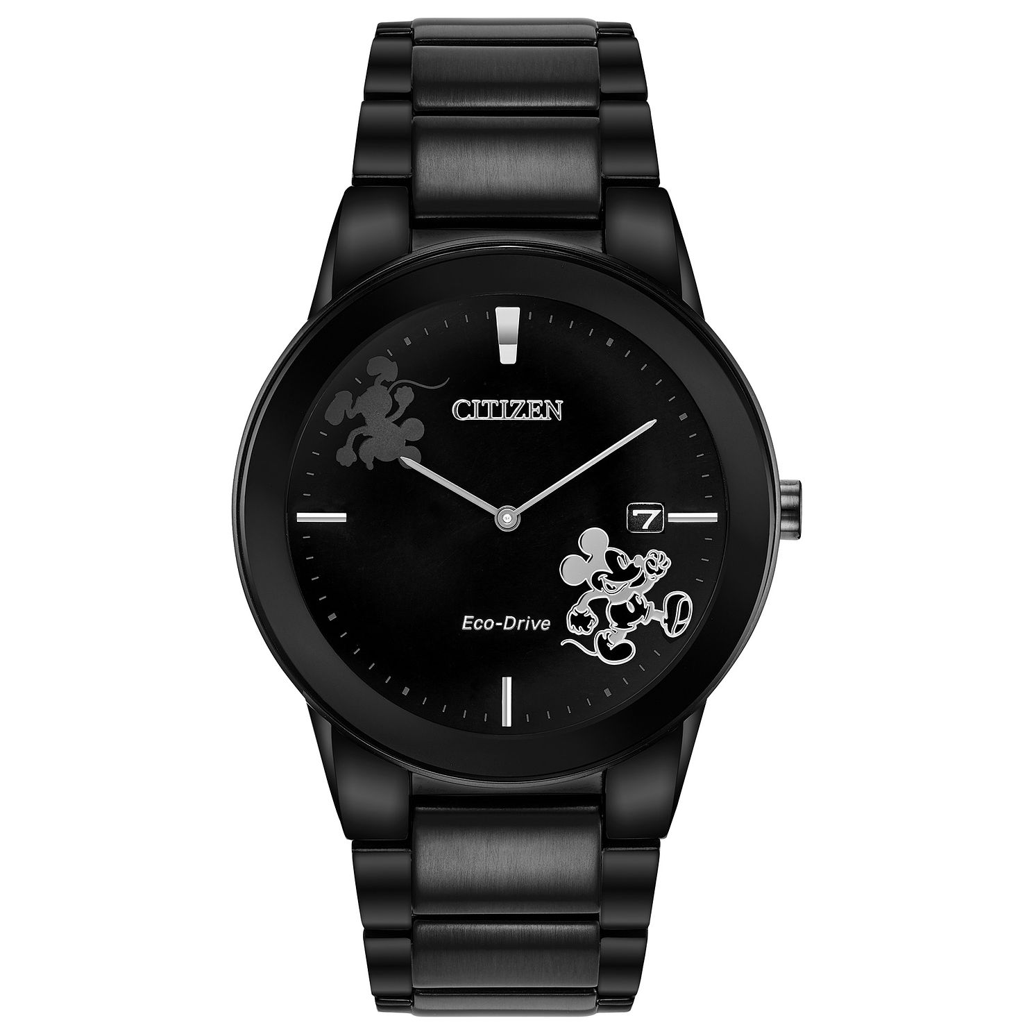 Citizen Disney Mickey Mouse Black IP Bracelet Watch - Product number 4089421