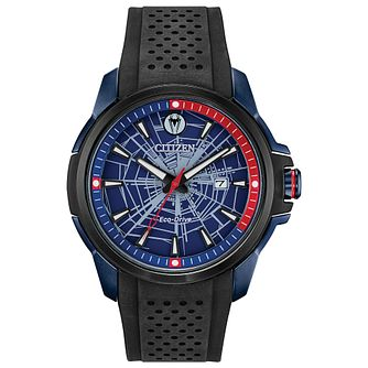 Citizen Marvel Spiderman Black Rubber Strap Watch - Product number 4089472