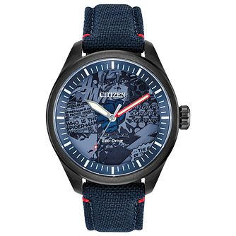 71daec9786f Citizen Marvel Heroes Blue Fabric Strap Watch - Product number 4089502