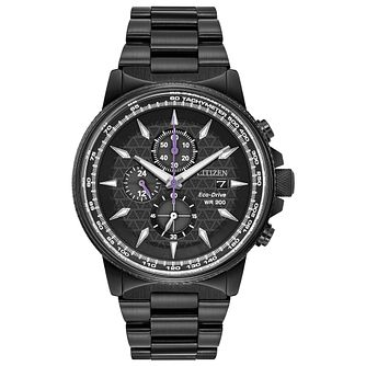 Citizen Marvel Black Panther Black IP Bracelet Watch - Product number 4089510