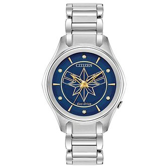 Citizen Marvel Captain Marvel Stainless Steel Bracelet Watch - Product number 4089537