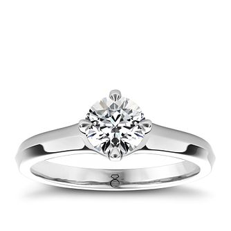The Diamond Story 18ct White Gold 1.25ct Diamond Solitaire - Product number 4090284