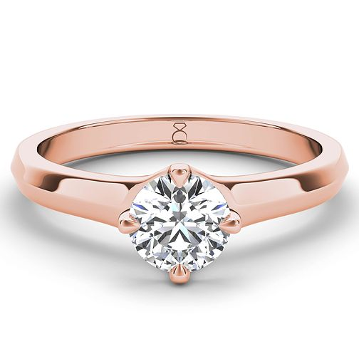 The Diamond Story 18ct rose gold 1.25ct diamond solitaire - Product number 4091302