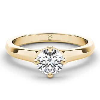 The Diamond Story 18ct Gold 2/3ct Diamond Solitaire - Product number 4091760