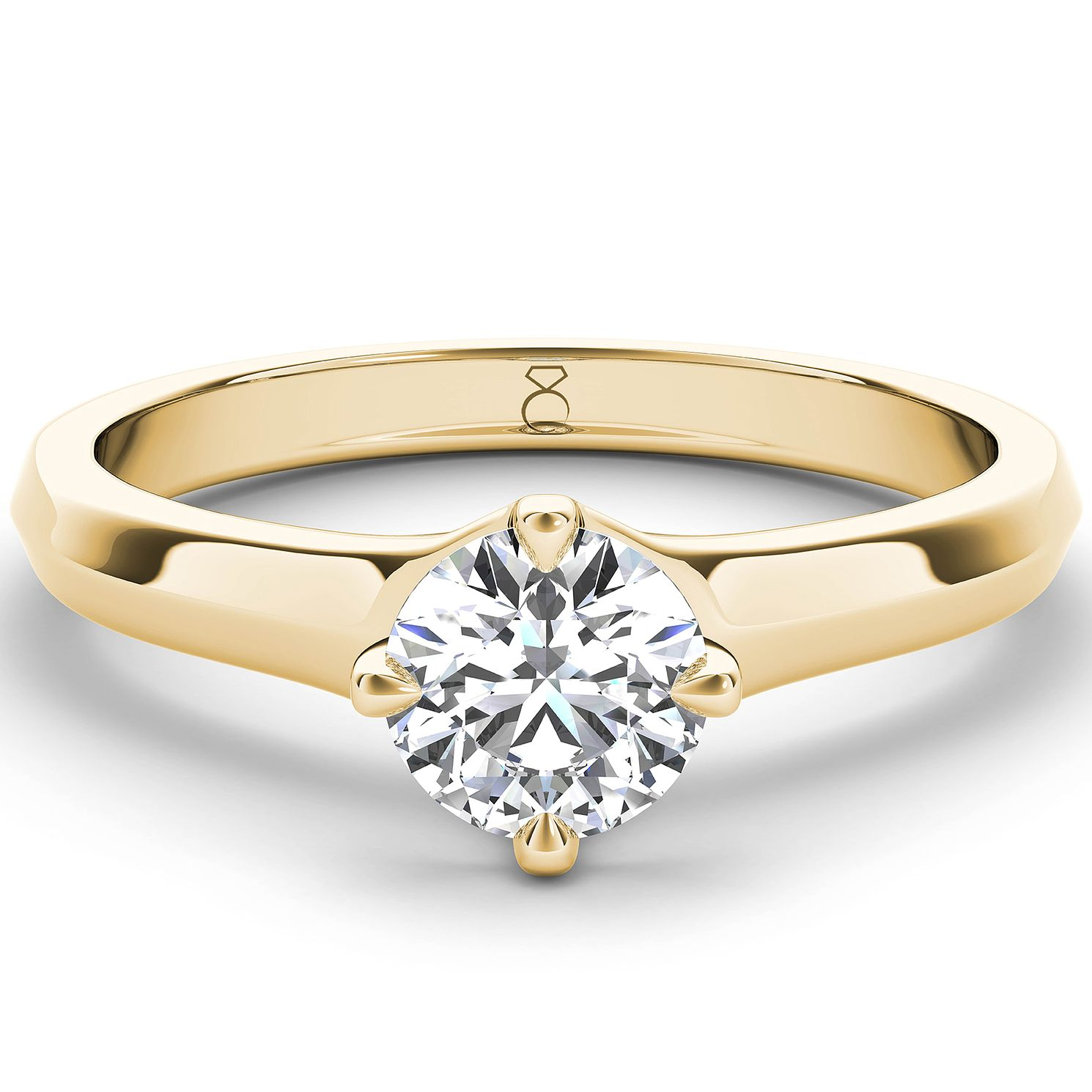 The Diamond Story 18ct Gold 2ct Diamond Solitaire Ring - Product number 4092805