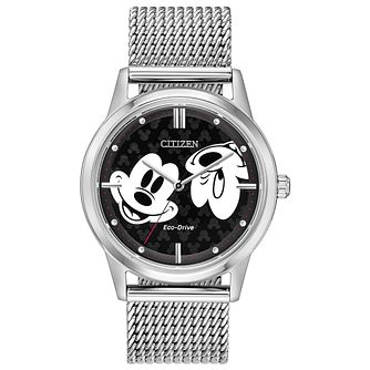 Citizen Disney Mickey Mouse Stainless Steel Bracelet Watch - Product number 4092937