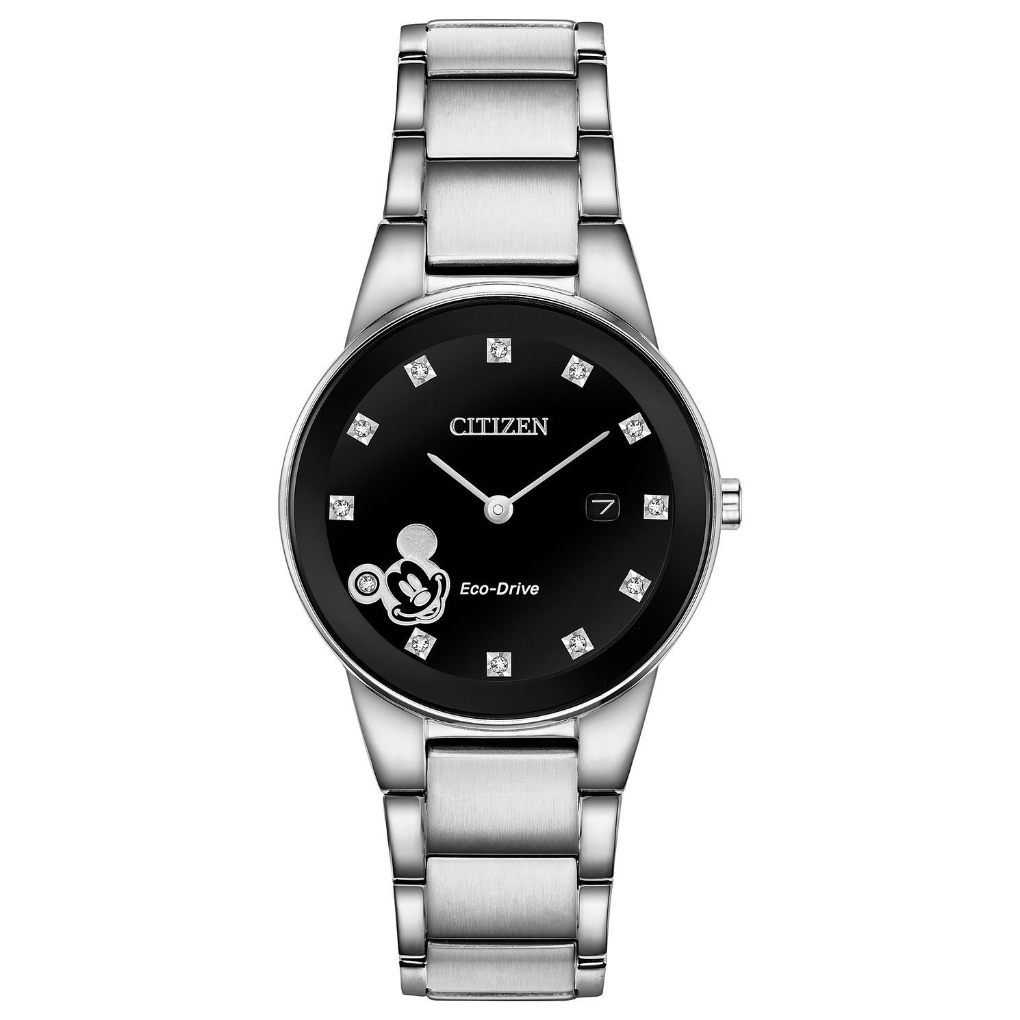 Citizen Disney Mickey Ladies' Stainless Steel Bracelet Watch - Product number 4092996