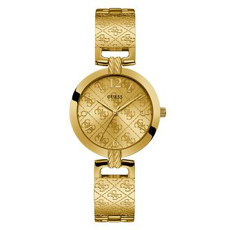 Guess Ladies' 4-G Gold Tone Bracelet watch - Product number 4094360