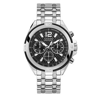 Guess Men's Chronograph Stainless Steel Bracelet Watch - Product number 4094611