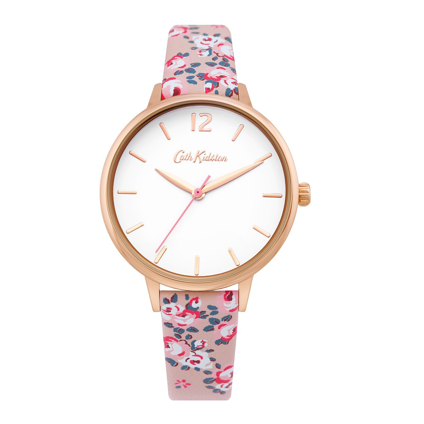 Cath Kidston Hampton Rose Ladies' Pink PU Strap Watch - Product number 4094808