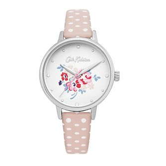 Cath Kidston Lucky Bunch Ladies' Pink PU Strap Watch - Product number 4095286