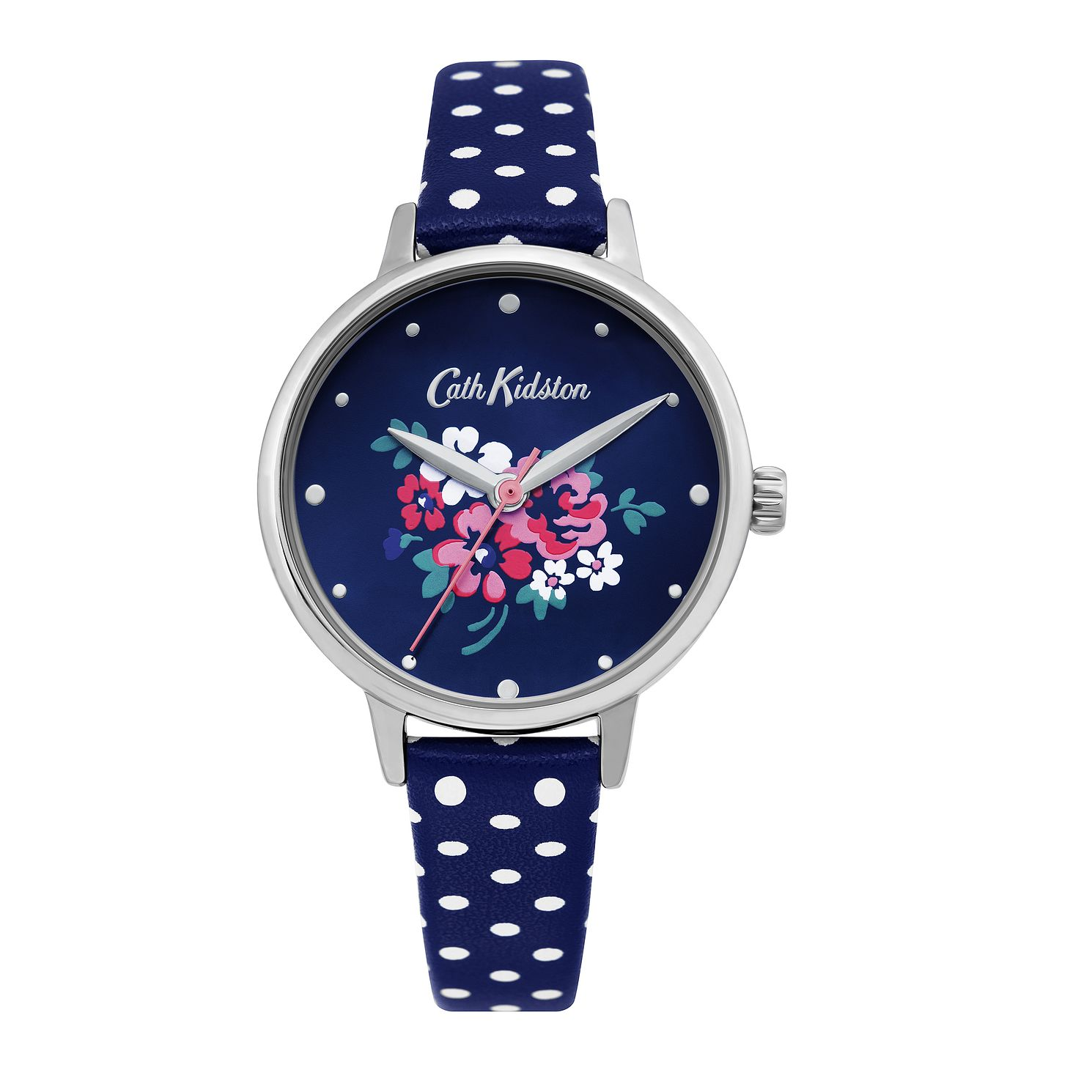 Cath Kidston Lucky Bunch Ladies' Blue PU Strap Watch - Product number 4095294