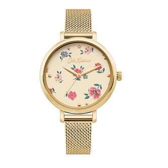 Cath Kidston Brampton Ditsy Yellow Gold Tone Bracelet Watch - Product number 4095324