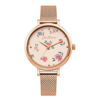 Cath Kidston Brampton Ditsy Rose Gold Tone Bracelet Watch - Product number 4095332