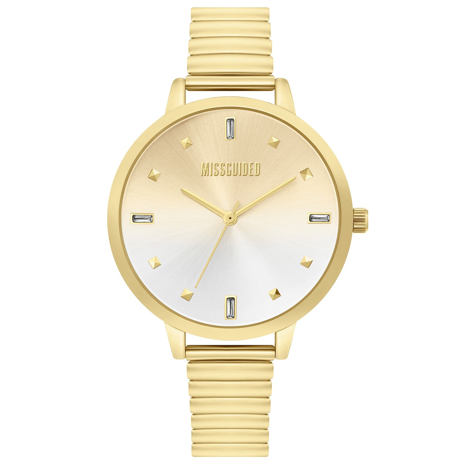 Missguided Ladies' Gold Expander Bracelet Watch - Product number 4095413
