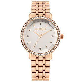 Missguided Ladies' Rose Gold Tone Bracelet Watch - Product number 4095502