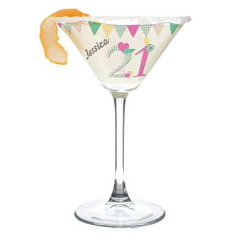 Birthday Craft Cocktail Glass - Product number 4095677