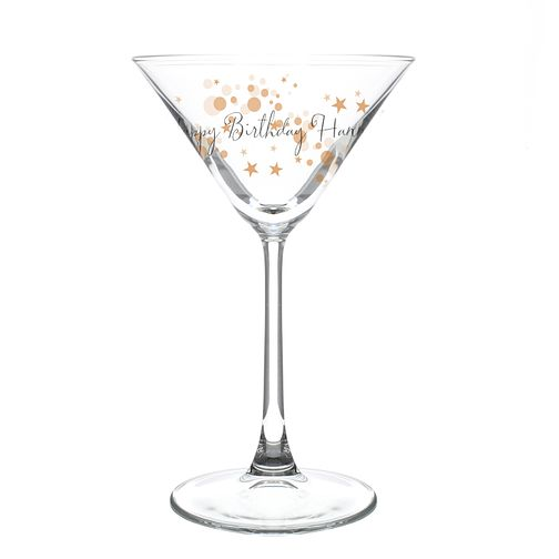 Gold Bubbles Cocktail Glass - Product number 4095685