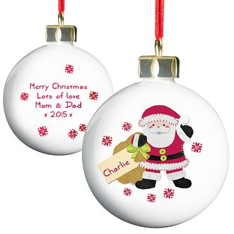 Felt Stitch Santa Bauble - Product number 4096002