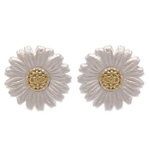 Olivia Burton 3D Daisy Yellow Gold Plated Stud Earrings - Product number 4097572