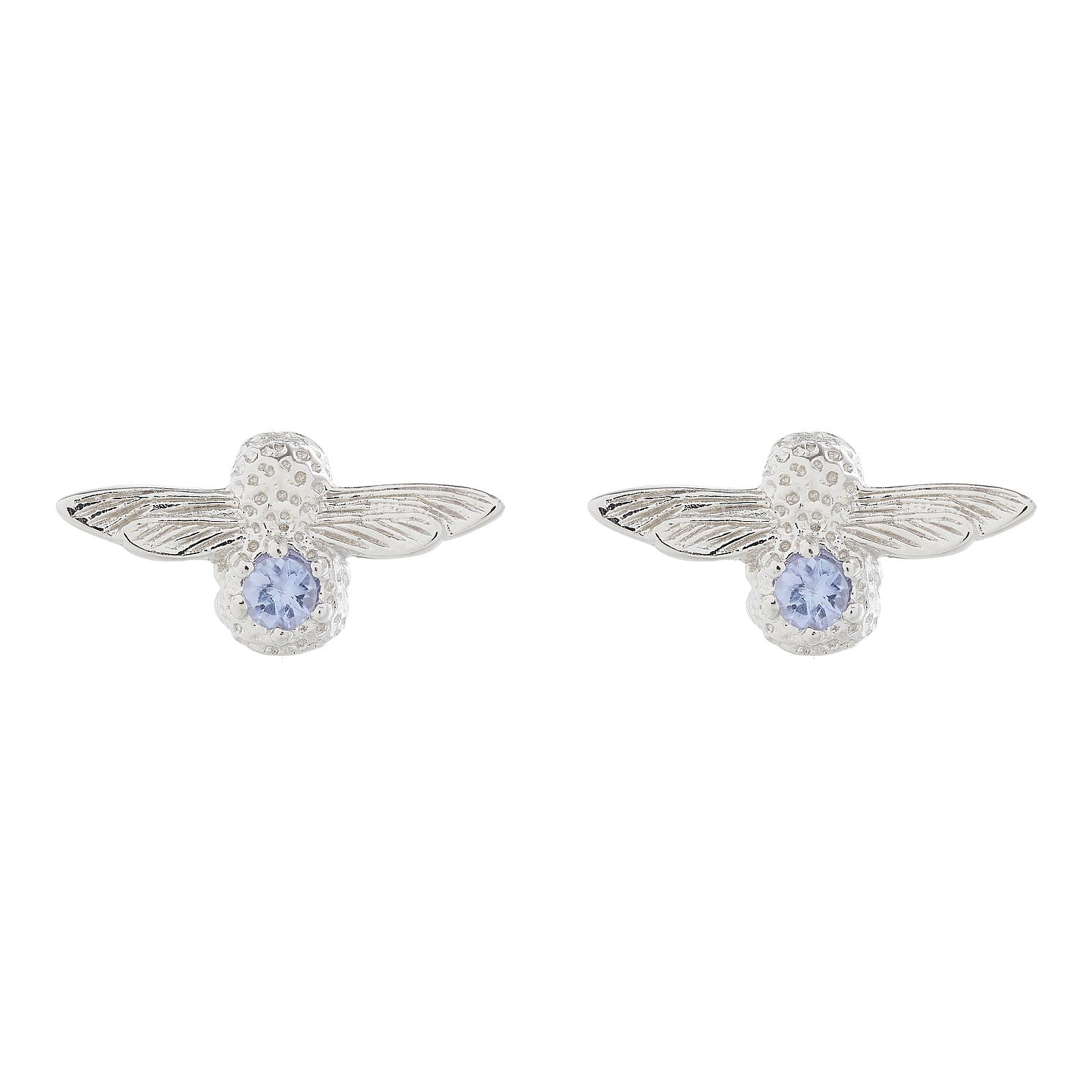 Olivia Burton Tanzanite Sterling Silver Stud Earrings - Product number 4097858