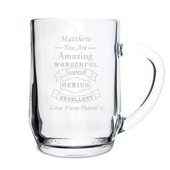 Vintage Typography Tankard - Product number 4098439