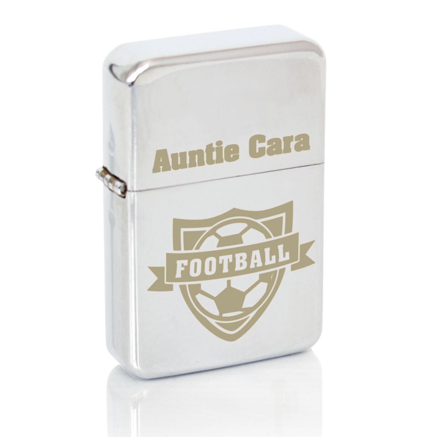 Engraved Football Lighter - Product number 4098692