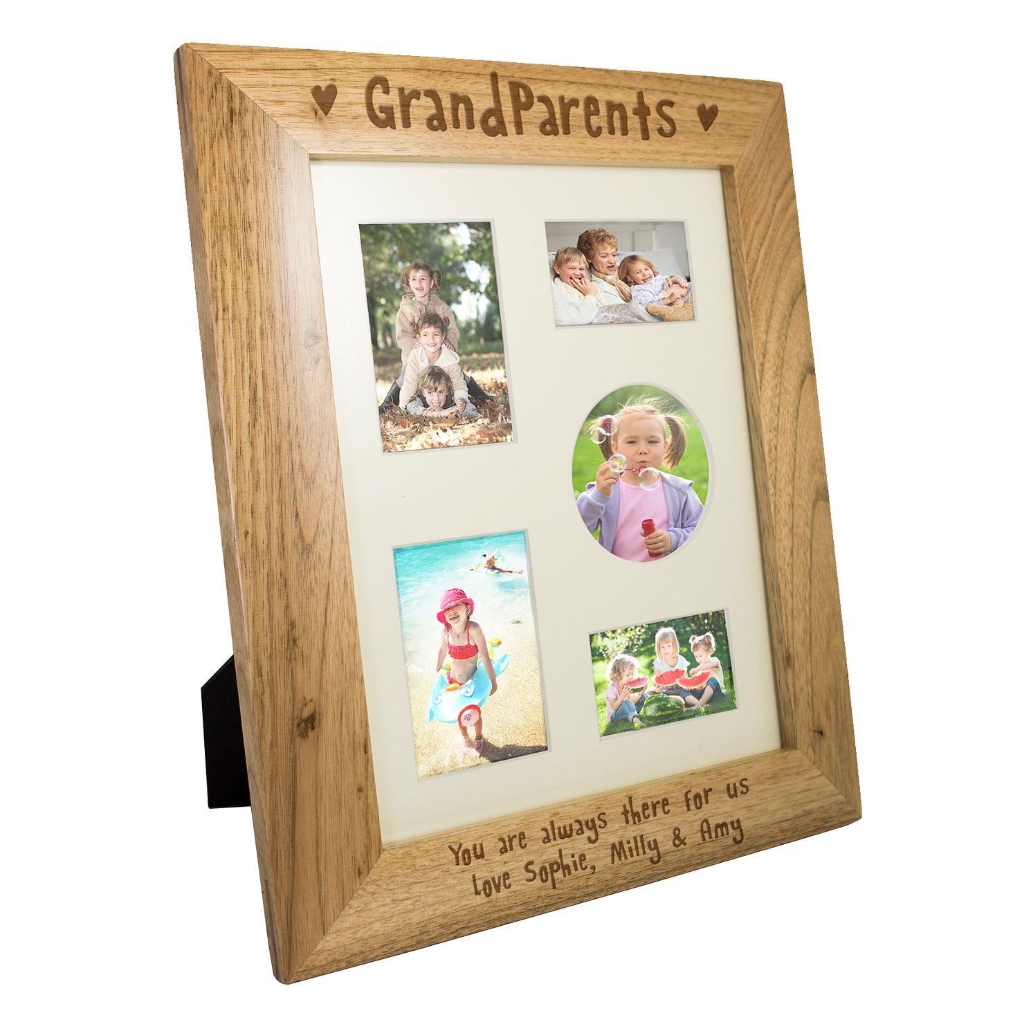 Personalised 10x8 Grandparents Wooden Frame - Product number 4102142