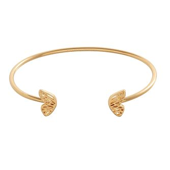Olivia Burton Gold Metal Plated Butterfly Wing Bangle - Product number 4102258