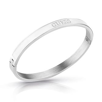 Guess Rhodium Plated Bangle - Product number 4105362