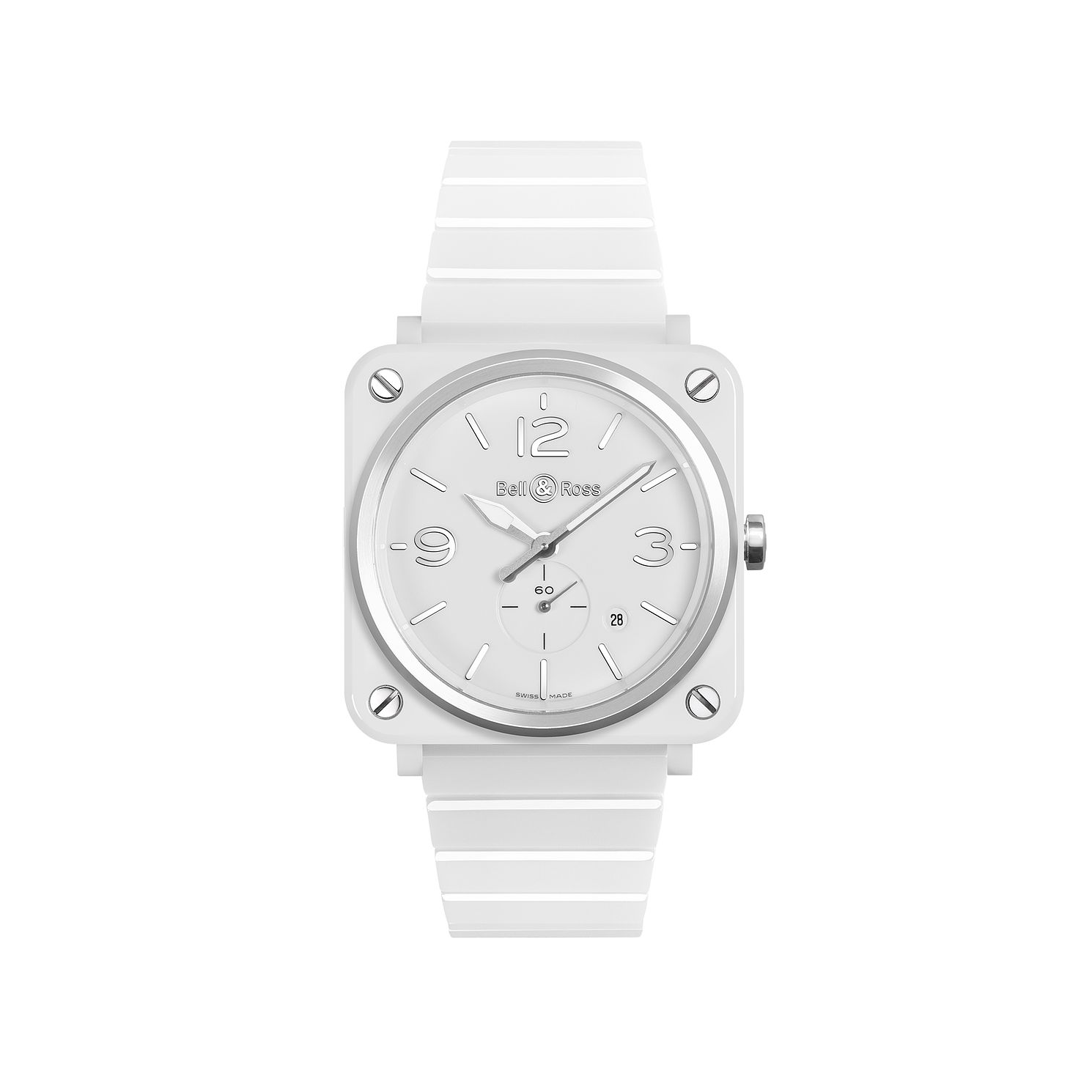 Bell and Ross Ceramic White Bracelet Watch - Product number 4109724