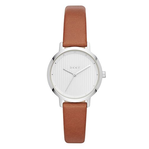 DKNY The Modernist Ladies' Tan Leather Strap Watch - Product number 4114175