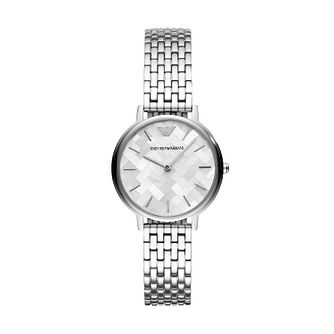 Emporio Armani Ladies' Mother of Pearl Bracelet Watch - Product number 4114361