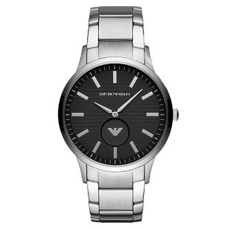 Emporio Armani Men's Black Dial Bracelet Watch - Product number 4114833
