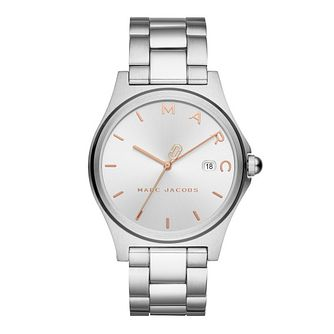 Marc Jacobs Henry Ladies' Stainless Steel Bracelet Watch - Product number 4116119