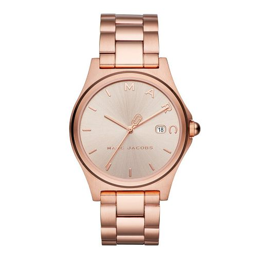 Marc Jacobs Henry Ladies' Rose Gold Tone Bracelet Watch - Product number 4116151