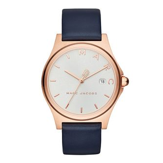 Marc Jacobs Henry Ladies' Rose Gold Tone Strap Watch - Product number 4116186