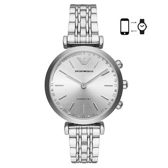 Emporio Armani Connected Ladies' Stone Set Hybrid Smartwatch - Product number 4116518