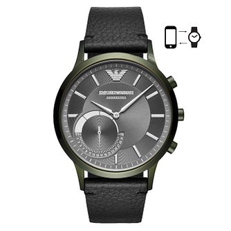 Emporio Armani Connected Men's Ion Plated Hybrid Smartwatch - Product number 4116569